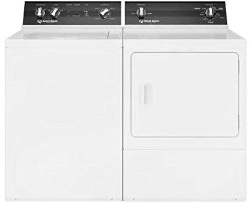 (Speed Queen White Electric Laundry Pair with TR3000WN 26