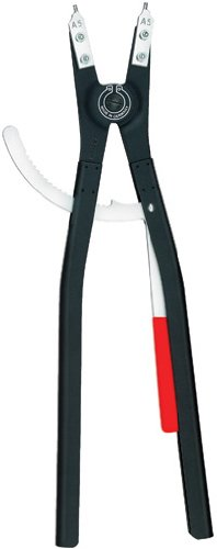 Knipex 4610A6 External Straight Retaining Ring Pliers 22.75-Inch
