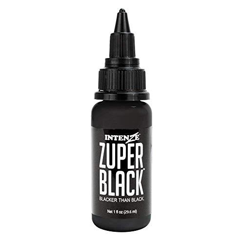 Intenze Tattoo Ink Zuper Black 1 Ounce