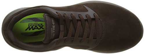 Skechers The City Chocolate on Go Uomo Running Marrone Scarpe 3 xHSaAqx