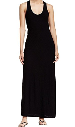 Size 3 James Perse Racerback Cotton and Modal Maxi Dress