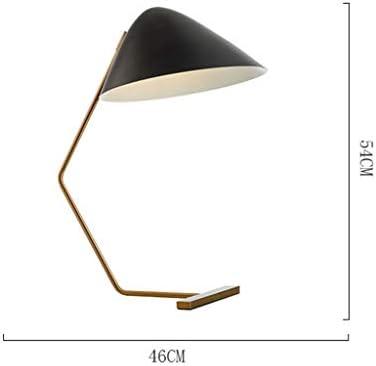 -Desk Lamp Table Lamp Modern Creative Desk Light Iron Art Long Arm Workbench Office Study Bedside Reading Student - Push Button Switch/E27*1 Bedroom Bedside lamp