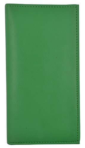 Basic PU Leather Checkbook Covers NEW COLORS (Green)