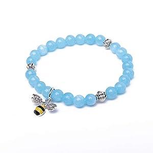 TKN Gemstone Larimar Bracelet