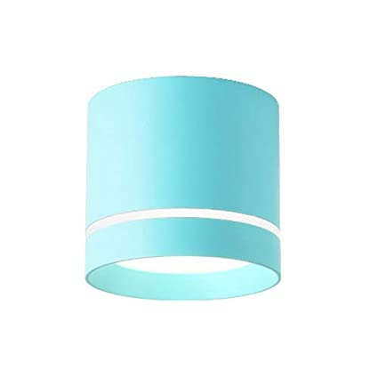 BRILLRAYDO 5W LED Ceiling Directional Spotlight Surfaced Mount Light Adjustable Picture Project Blue Nature White