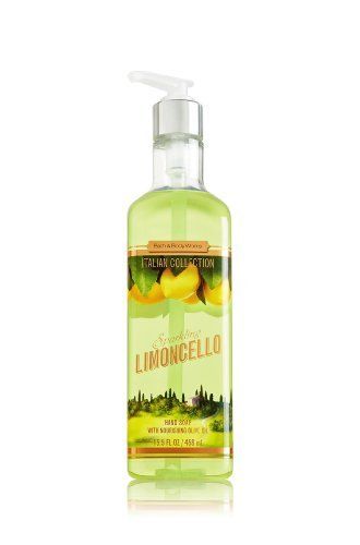 Lot of 6 - Bath & Body Works Sparkling Limoncello Hand Soap 15.5oz Each X6 - Lemon Hand Wash - Italian Collection - Great for Kitchen or Bathroom