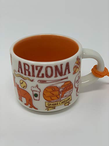 Arizona Starbucks Been There Series Ornament 2oz Cup ()