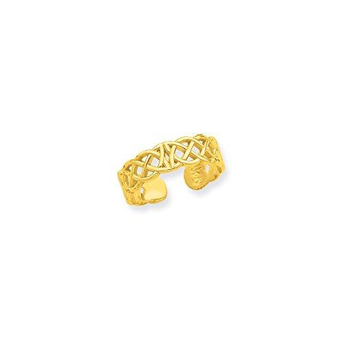 Ring Celtic Toe 14k (Best Designer Jewelry 14k Celtic Toe Ring)