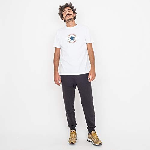 Patch T Blanc Ss 10008905 shirt xl Pour Crew Converse a01 Urew qTdEq