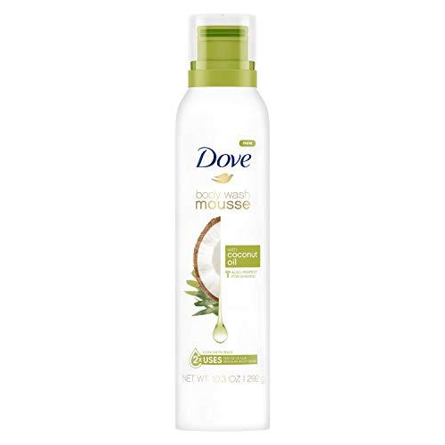 - Dove BODY WASH foaming moose shower gel - 10.3 oz foam (Coconut Oil)