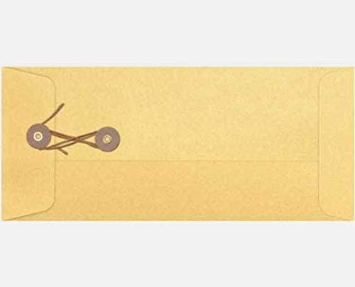 Pack of 50000 4 1//8 x 9 1//2 #10 Button /& String Envelopes