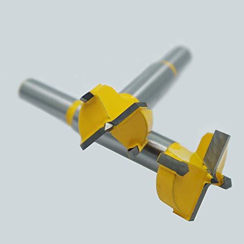 Wolfride Forstner Bit Set Hinge Hole Blade Woodworking Hole Opener Round Hole Drill Bit for Wood Diameter 15mm 20mm 25mm 30mm 35mm