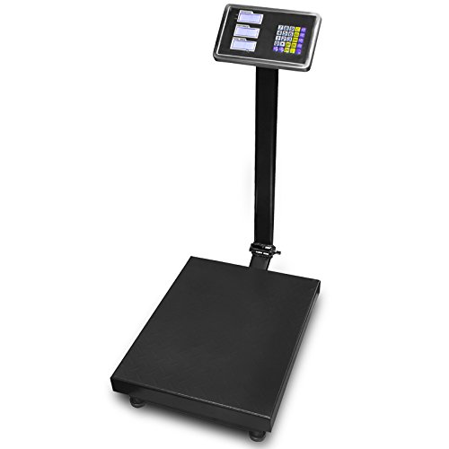 XtremepowerUS 600 LB Weight Computing Postal Scale Digital Floor Platform Warehouse Shipping by XtremepowerUS