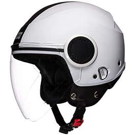 Studds Urban Open Face Helmet (White, M)