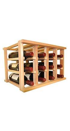 Wine Cellar Innovation Mini Stack Series Bin Storage Wine Rack44; Unstained