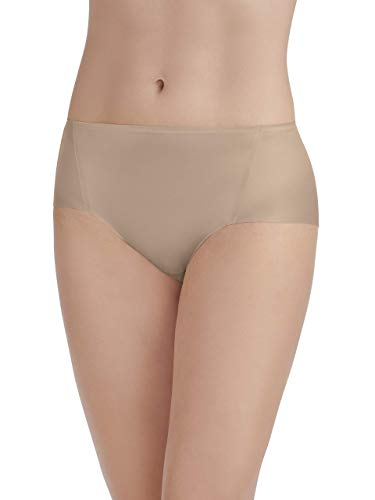- Vanity Fair Women's Underwear Nearly Invisible Panty, Damask Neutral, 2X-Large/9