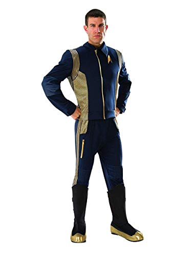 Rubie's Men's Star Trek Discovery Grand Heritage Command Uniform Adult Costume, -