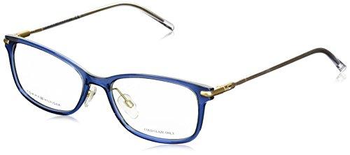 Tommy Hilfiger - TH 1400, Rechteckig, njektion/propionate, Damenbrillen, BLUE CRYSTAL(R21), 53/17/140