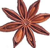 Anise Star, Whole - Wildcrafted - Illicium verum (454g = One Pound) Brand: Herbies Herbs