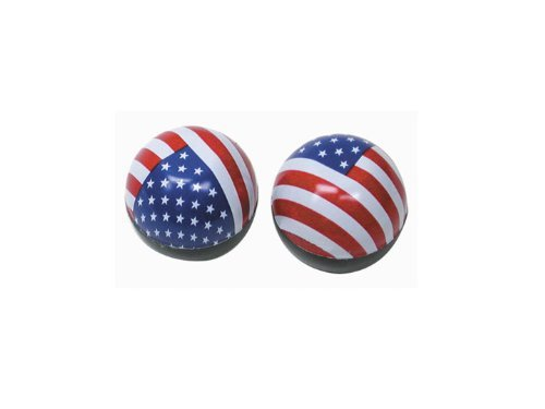 Trik Topz Flag USA Valve Cap by Trik Topz