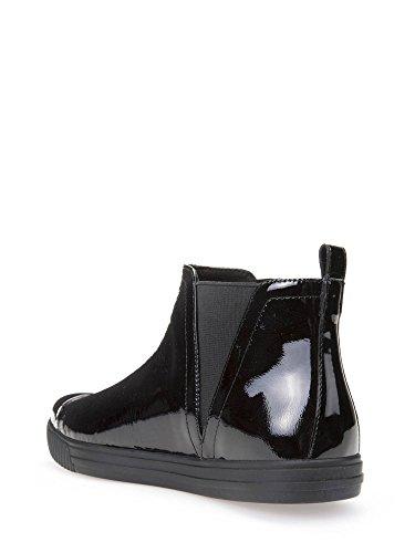 Femmes Geox D641mf Noir 000ev Sneakers HHUw8tqp