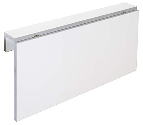 Miroytengo Mesa Cocina Plegable Blanca Vera diseno Moderno abatible Funcional suspendida Pared 80x10-50