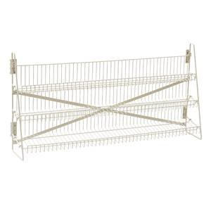 Wire Candy Snack Rack, 3 Tier, Counter or Mount, 48''W, Beige by Retail Resource