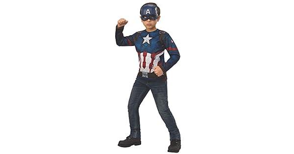 Amazon.com: Avengers 4 Captain America - Disfraz de Capitán ...