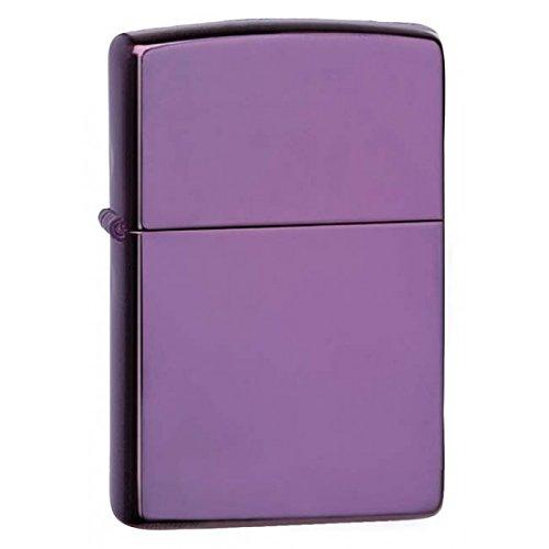 Zippo High Polish Purple Lighter by Zippo
