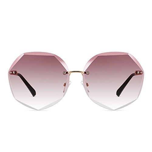 en lunettes soleil de cristal lunettes de soleil soleil Mesdames 6 l'océan de soleil de Lunettes lunettes grand Shop cadre de couleur Trois de qRPxZC