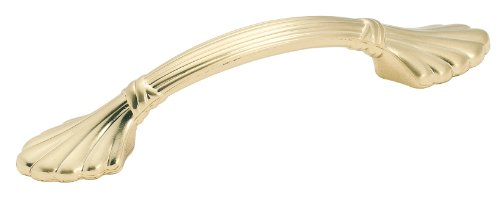 Amerock BP1333-O74 Sterling Brass Natural Elegance Shell Pull