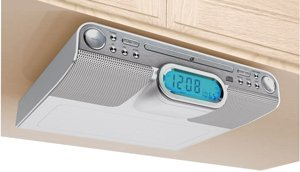 GPX Undercabinet CD Radio