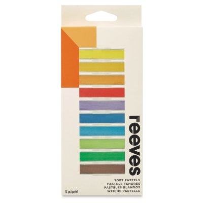Winsor & Newton Reeves 12 Colors Soft Pastel Set ()