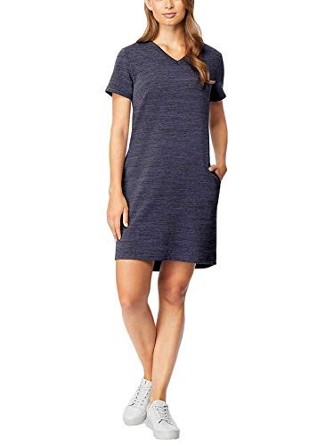 32 DEGREES Cool Women's Relaxed Fit Pullover Dress (Skipper Blue, ()