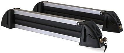 Menabo Skiträger Aluminium Für Bis Zu 4 Paar Ski Speziell Für Carvingski Auto