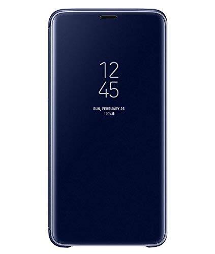 TaiY Ultra Delgado Translúcido Espejo con Función Kickstand Flip Funda Carcasa Case + Cristal Templado para Huawei P20 Pro...