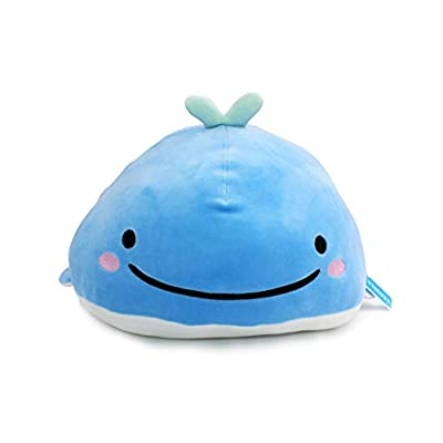 Vintoys Very Soft Blue Whale Shark Hugging Pillow Plush Doll Fish Plush Toy Stuffed Animals 17
