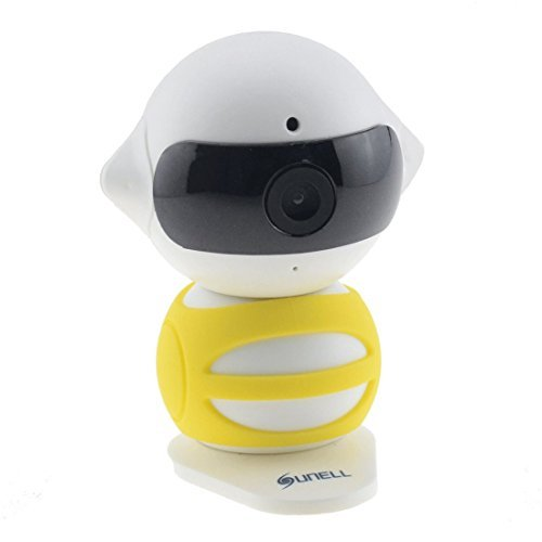 SUNELL Mini Wireless Camera 1.3MP(1280x960) IR 5M Built-in Microphone Speaker Two-way Audio APP Control Indoor Camera for Home Security System [並行輸入品] B01MT51HTV