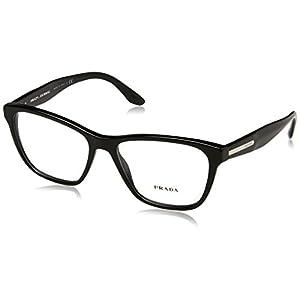 Prada PR04TV Eyeglass Frames 1AB1O1-54 - Black PR04TV-1AB1O1-54