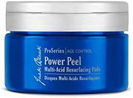 Jack Black - Power Peel Multi-Acid Resurfacing Pads - ProSeries Age Control, with UGL Complex and Niacinamide, Exfoliates, Resurfaces and Helps Firm and Brighten Skin, 40 Count