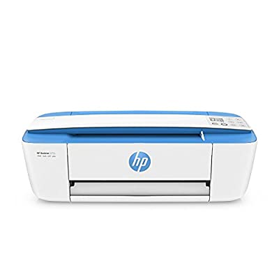 HP DeskJet 3755 All-in-One Printer, Copier and Scanner with Ink - Blue (Certified Refurbished)