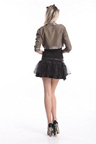 80s Pop Star Fancy Dress Ladies 1980s Madonna Womens Costume Outfit 8 10 12 (Women: 10, Popstar) by Emmas (Madonna Material Girl Fancy Dress)