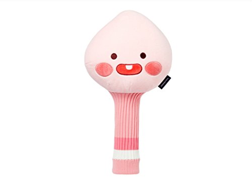 カビシュガー咽頭カカオトークLittle Friends apeachゴルフドライバーヘッドカバーPlush Doll