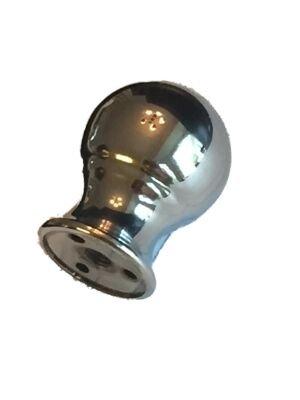 Upgradelights Polished Chrome Orb Finial