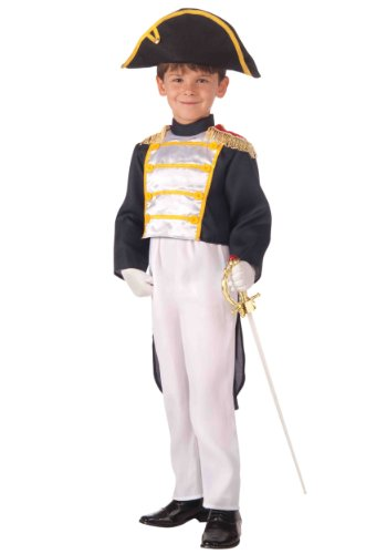 French Costume For Kids (Forum Novelties Colonial General Child Costume,)