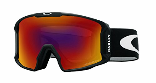 Outlet Sunglasses Oakley - Oakley Line Miner Adult Goggles - Matte Black/Prizm Torch Iridium/One Size