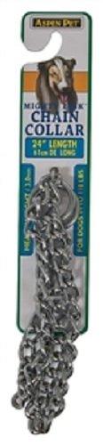 Aspen Pet Products 27891 Heavyweight Choke Chain Collar, 24-Inch