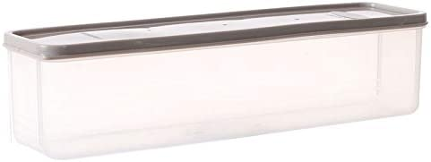 T.B.SHI 麺容器キッチン食品保存大容量気密長方形パスタボックスフレッシュ保管ケース (色 : 3)