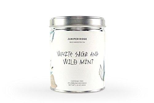 Juniper Ridge Wildharvested Tea, White Sage & Wild Mint Wild Mint Tea
