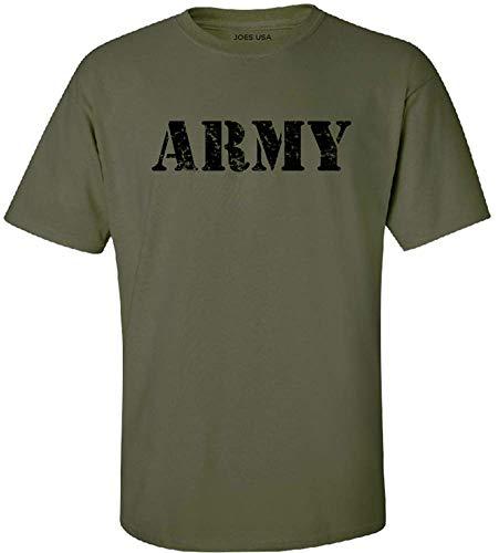 Joe's USA-Tall.Vintage Army Logo T-Shirts-OliveGreen X-Large Tall -